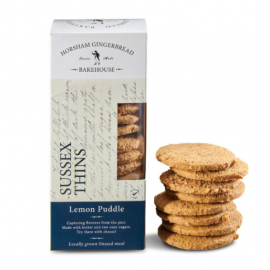 Sussex Lemon Puddle Thin Biscuits (4 x 175gr)