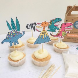 Dinosaur Cupcake Party bag