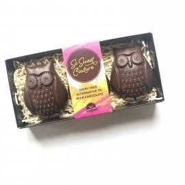Dairy Free Milk Chocolate Owls