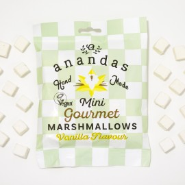 Gourmet Vanilla Marshmallows (Vegan)