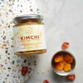 Carrot, Ginger + Turmeric Kimchi
