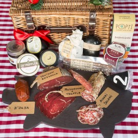 Artisan British Cheese and Charcuterie Lovers Box XL