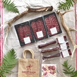 Wild Venison Charcuterie Gift Bag