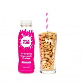 Nutritious Strawberry Cheesecake Cashew Mylk | Dairy Free Nut Milk (Pack of 4)