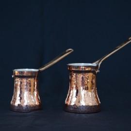 Handmade Copper Cezve (Turkish Coffee Pot)