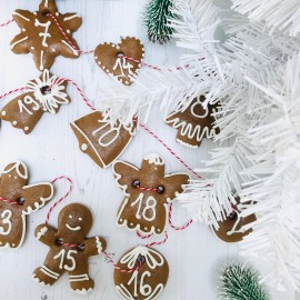 Jolly Ginger Christmas Biscuit Kit