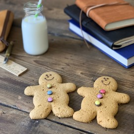 Vegan Gingerbread Men (Box of 12)