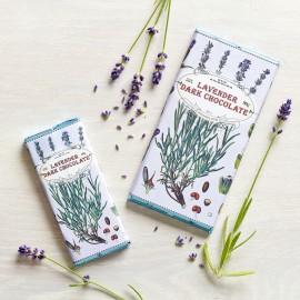 Handmade Botanicals Lavender Dark Chocolate Bars (3 pack)