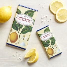 Handmade Botanicals Salted Lemon Dark Chocolate Bars (3 pack)