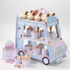 Ice Cream Cart Cupcake Stand