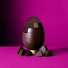 Solid Colombian Single Origin Chocolate Egg