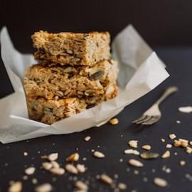 Dairy-free Nut + Seed Flapjacks
