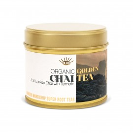 Organic Golden Turmeric Chai (Black Tea & Chai Blend) 3 Jars