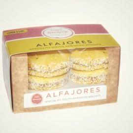 Authentic Venezuelan Alfajores - Lemon & Lime Biscuits (Pack of 4)