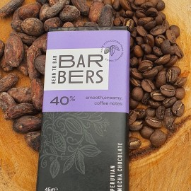 40% mocha bar
