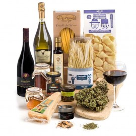 Pasta Passione Hamper With Wine