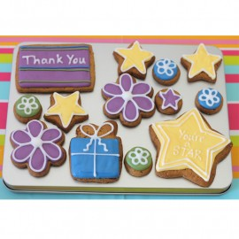 Thank You Biscuit Gift Tin (Box of 13)