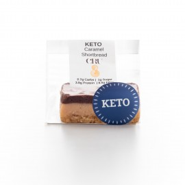Raw KETO Caramel Slice