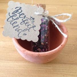 Tea Wedding Favour Cork Bottle