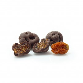 Inca berries coated in dark chocolate BUY IN WEIGHT 200g