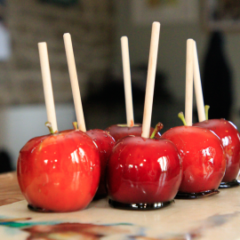 Postal D.I.Y./Make your own Toffee Apple Kit for Halloween, Bonfire Night and making your own wedding or party fav