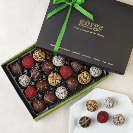 New 24 Raw Organic Truffle Selection Box