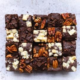 20 Mini Brownie bites selection box | Vegan, Gluten & Refined Sugar Free