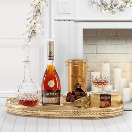 The Mayfair Christmas Brandy Gift Box