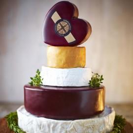 Godminster Celebration Cheese Cake - Heart