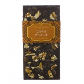 Coffee & Walnut Dark Chocolate Bar