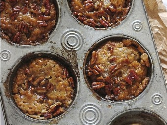 Mini Sweet Potato Pecan Pie Puddings
