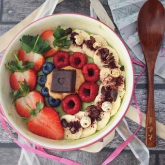 Sweet Matcha Oatmeal
