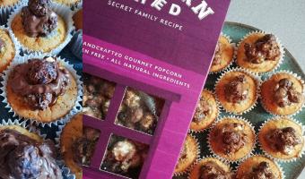 The Chocolatiest Popcorn Cupcake Recipe in the World!