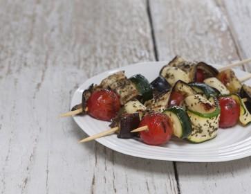 Kombu Vegetable Kebabs