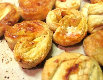 Marshmallow Palmier Biscuits
