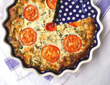 British Food Fortnight: Kale, Dill & Ricotta Pie