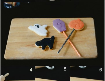 Halloween Spooky Ghost - Step by Step