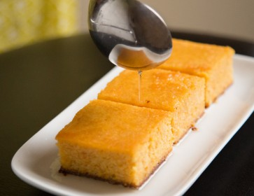 Clementine Cake With Lemongrass Syrup