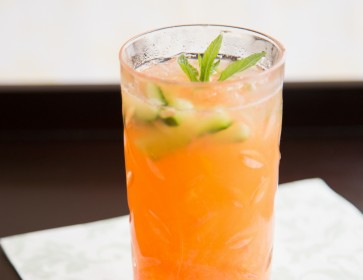 Tropical Cooler for Pimm's Cocktail