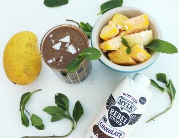 Rebel Kitchen's White Bean & Mango Smoothie