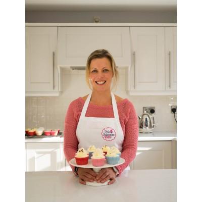 Pink Aubergine Cupcakes