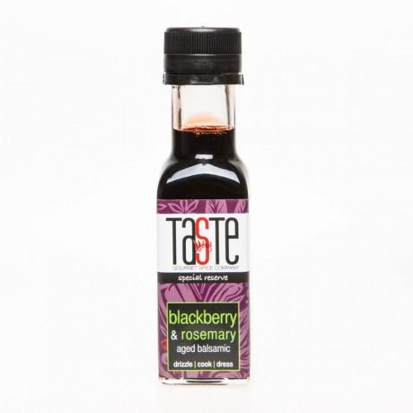 Blackberry and rosemary balsamic