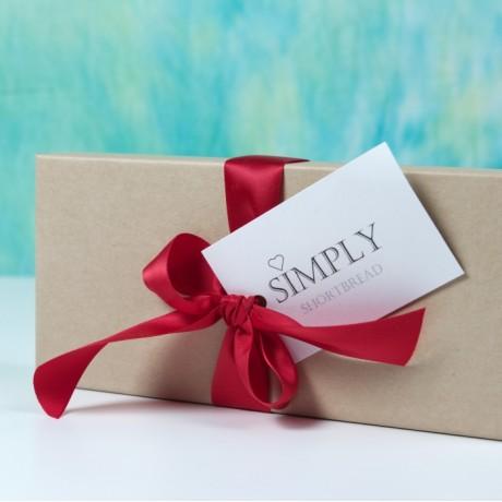 Valentines Heart Shortbread Gift box