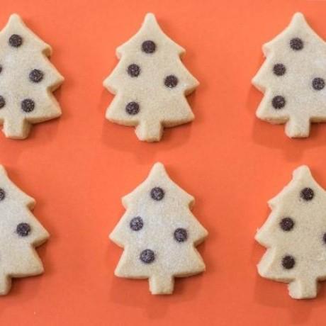 Christmas Tree Shortbread