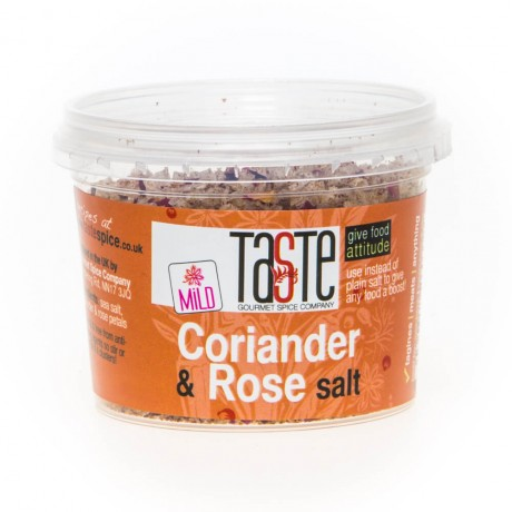 Coriander & Rose Petal Salt