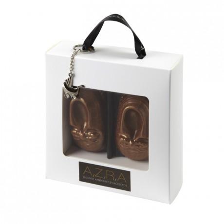 Baby Charlie Handmade Milk Chocolate Shoes