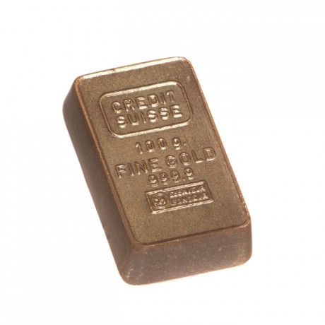 Handmade Chocolate Bullion Bar Favours