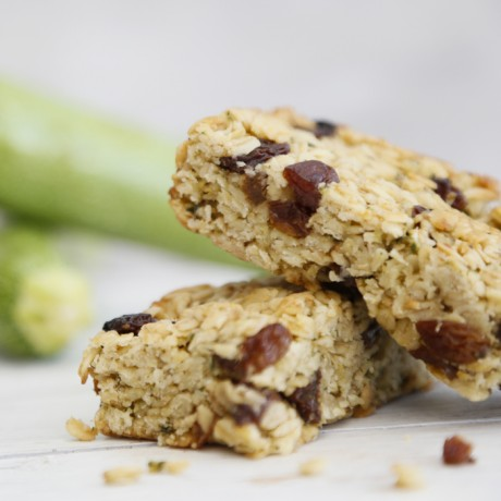 Flapjacks with Courgette