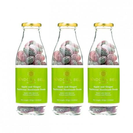 Apple & Ginger Natural Handmade Sweets - 3 bottles