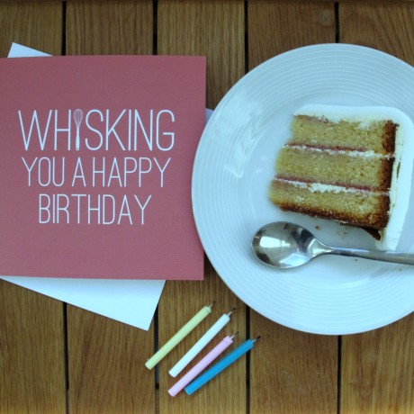 Whisking You A Happy Birthday Card